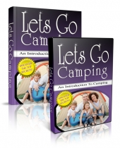 Lets Go Camping eBook with Private Label Rights