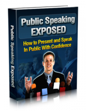 Public Speaking Exposed eBook with private label rights