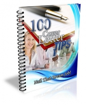 100 Cover Letter Tips eBook with Master Resell Rights