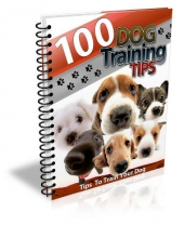100 Dog Training Tips eBook with Master Resell Rights