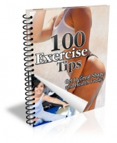 100 Exercise Tips eBook with private label rights