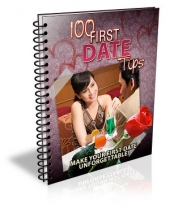 100 First Date Tips eBook with Master Resell Rights