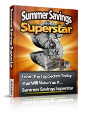 Summer Savings Superstar eBook with Private Label Rights