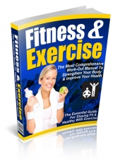 Fitness & Exercise eBook with Resell Rights