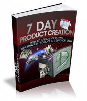 7 Day Product Creation eBook with Master Resell Rights