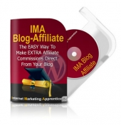 IMA Blog Affiliate Plugin Software with Master Resell Rights