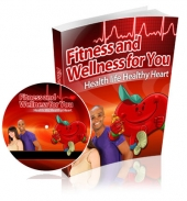 Fitness and Wellness for You eBook with private label rights