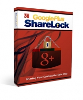 Google Plus ShareLock Software with Resell Rights
