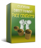 Clickbank Direct Payment Page Generator Software with private label rights
