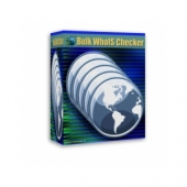 Bulk WhoIS Checker Software with Master Resell Rights