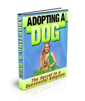 Adopting a Dog - PLR eBook with Private Label Rights