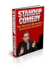 Stand-up Comedy - PLR eBook with Private Label Rights