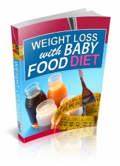 Weight Loss With Baby Food Diet eBook with Private Label Rights