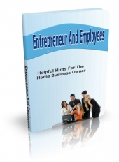 Entrepreneur And Employees eBook with private label rights