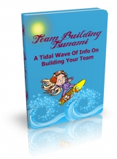 Team Building Tsunami eBook with private label rights