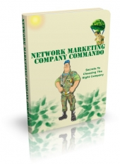 Network Marketing Company Commando eBook with private label rights