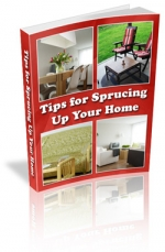 Tips for Sprucing Up Your Home eBook with Master Resale Rights