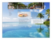 Vacation Templates Template with private label rights