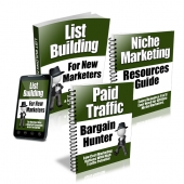 Newbie Marketers Starters Series eBook with Private Label Rights