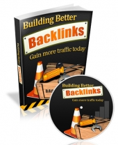 Building Better Backlinks eBook with private label rights