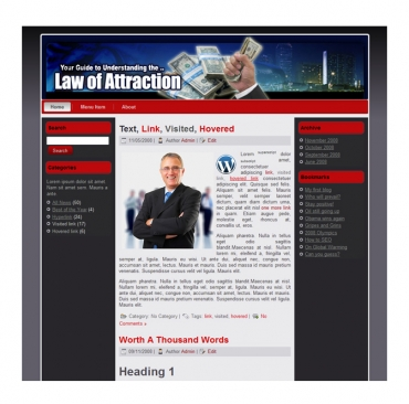 Law Of Attraction Templates