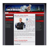 Law Of Attraction Templates Template with private label rights