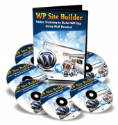 WP Site Builder Video with Master Resell Rights