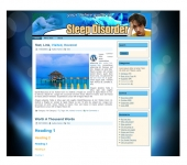 Sleep Disorder Templates Template with private label rights