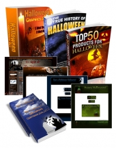 Halloween Super Pack Template with private label rights