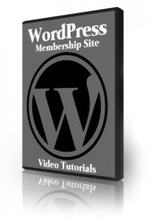 WordPress Membership Site Video Tutorials Video with Private Label Rights