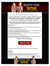 Tattoo Removal Template Template with Personal Use Rights