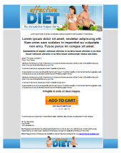 Effective Diet Template Template with Personal Use Rights