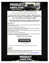 CPA Annihilation Template Template with Personal Use Rights