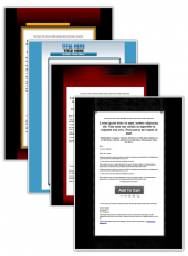 8 Minisite Templates Template with Personal Use Rights