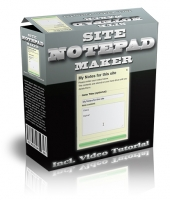 Site Notepad Maker Software with Master Resell Rights