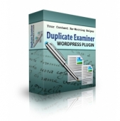 Duplicate Examiner WordPress plugin Software with Personal Use Rights
