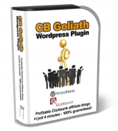 CB Goliath WordPress Plugin Software with Personal Use Rights