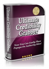 Ultimate Credibility Grabber Software with Resell Rights