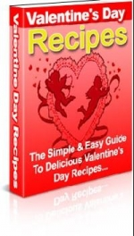 Valentine's Day Recipes eBook with Master Resale Rights