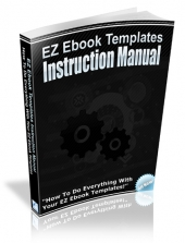 EZ Ebook Templates Instruction Manual eBook with private label rights