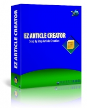 EZ Article Creator Software with Master Resell Rights