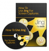 How To Use Jing For Screen Captures Video with Master Resell Rights