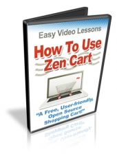 How To Use Zen Cart Video with Personal Use Rights
