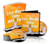 Lose Weight Today With Yoga eBook with Private Label Rights