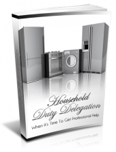 Household Duty Delegation eBook with private label rights