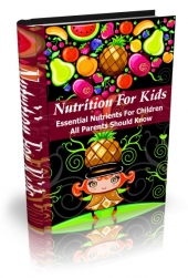 Nutrition for Kids eBook with private label rights