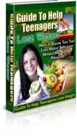 Guide To Help Teenagers Lose Weight eBook with Private Label Rights