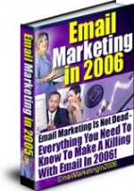 Email Marketing in 2006 eBook with Master Resale Rights
