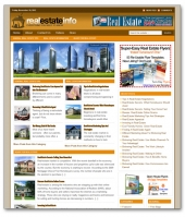 Real Estate Niche Blog Template with private label rights