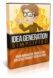 Idea Generation Simplified Video with Resell Rights